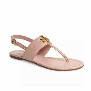 Tory Burch Women's Everly T-Strap Sea Shell Sandal